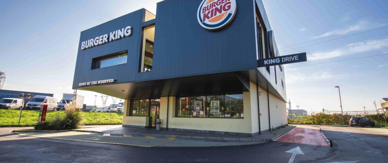 Burger King Calenzano rivestimento doghe
