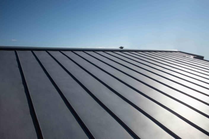 lato copertura doppia aggraffatura zinco titanio